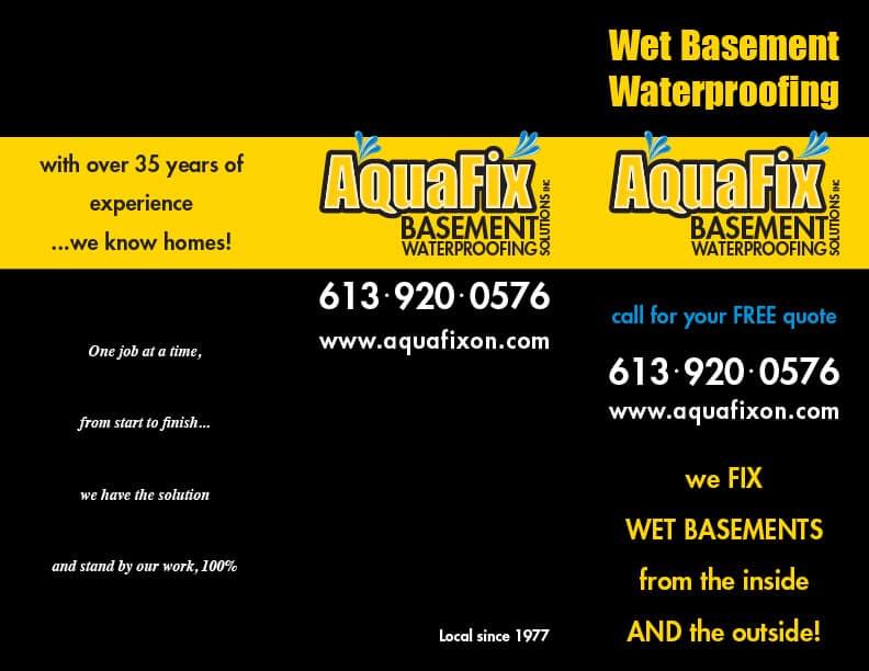 image of Aquafix Ontario brochure 792xx612